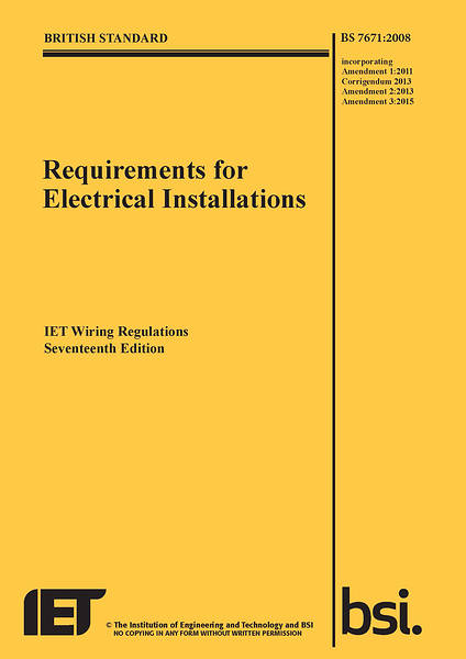 Amazing 17Th Edition Wiring Regulations Bs7671 3Rd Amendment Dandim Mohammedshrine Wiring Diagrams Dandimmohammedshrineorg