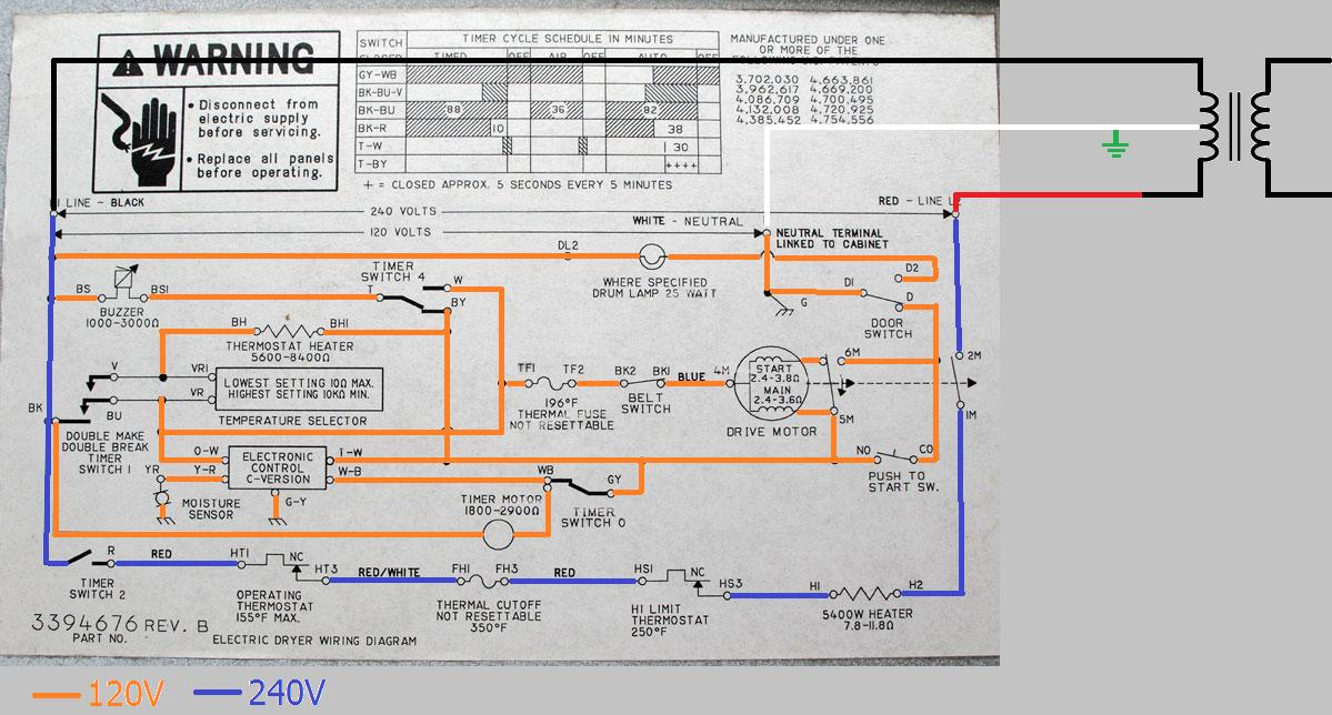 Prime Electrical Can A Dryer Receptacle Be Wired Without A Neutral Dandim Mohammedshrine Wiring Diagrams Dandimmohammedshrineorg