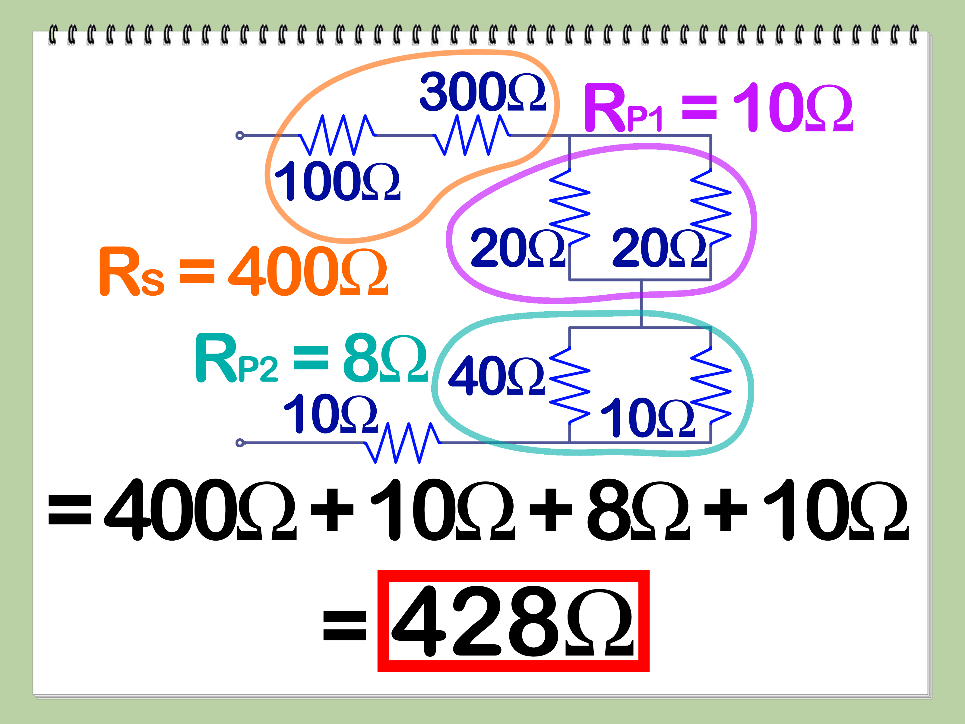 Cool How To Calculate Series And Parallel Resistance With Cheat Sheets Dandim Mohammedshrine Wiring Diagrams Dandimmohammedshrineorg