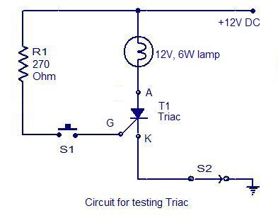 Groovy How To Test An Scr Electronic Circuits And Diagrams Electronic Dandim Mohammedshrine Wiring Diagrams Dandimmohammedshrineorg