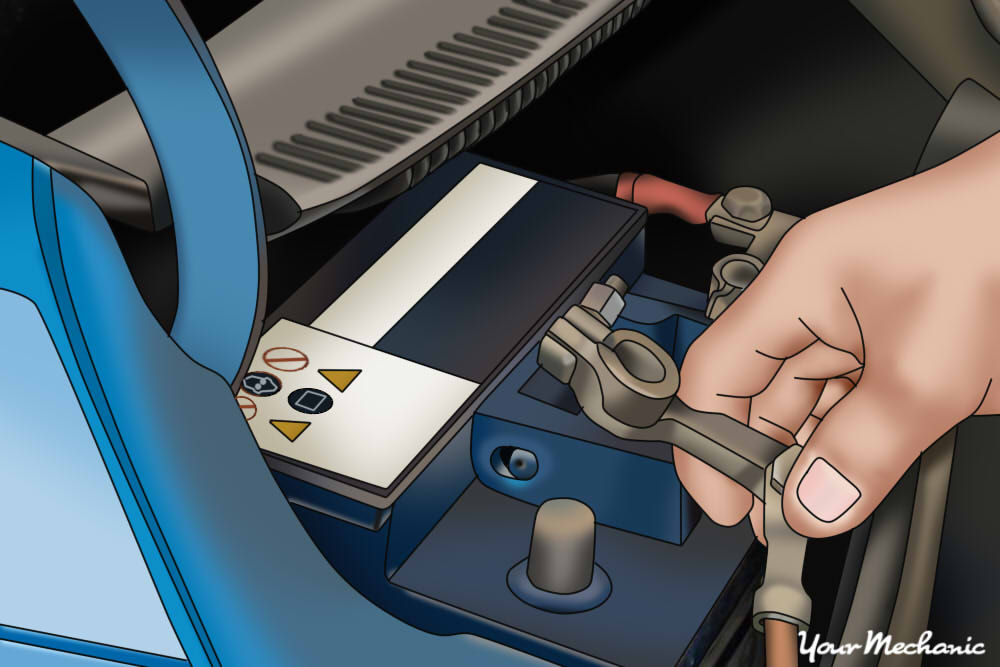 Superb How To Replace A Fuel Pump Shut Off Switch Yourmechanic Advice Dandim Mohammedshrine Wiring Diagrams Dandimmohammedshrineorg
