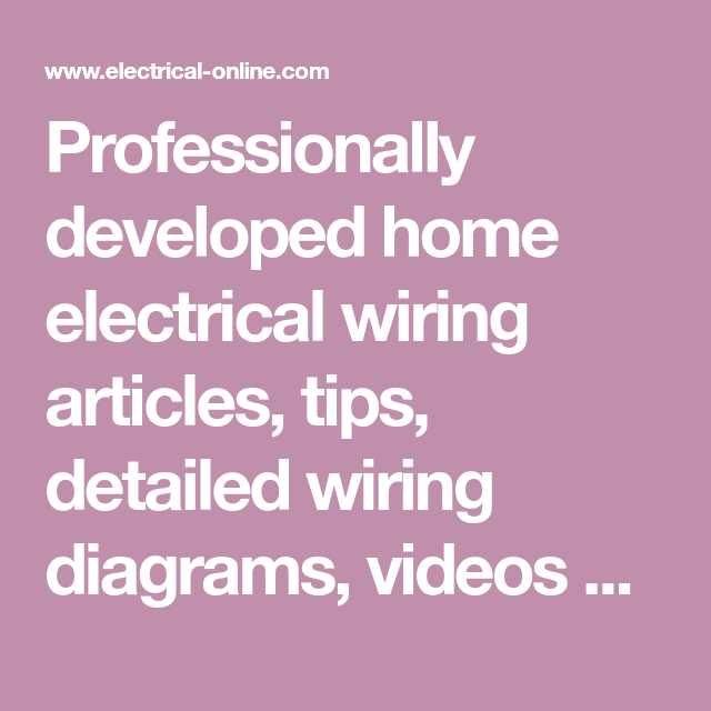 Awe Inspiring Professionally Developed Home Electrical Wiring Articles Tips Dandim Mohammedshrine Wiring Diagrams Dandimmohammedshrineorg