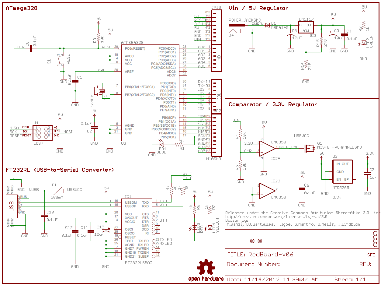 Magnificent How To Read A Schematic Learn Sparkfun Com Dandim Mohammedshrine Wiring Diagrams Dandimmohammedshrineorg