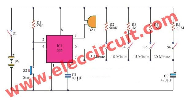 Prime Simple Electronic Projects Top 100 For You Eleccircuit Com Dandim Mohammedshrine Wiring Diagrams Dandimmohammedshrineorg