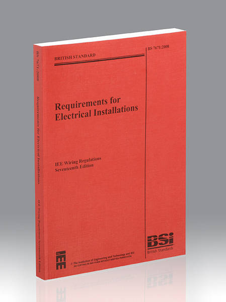 Wondrous 17Th Edition Wiring Regulations Bs7671 Dandim Mohammedshrine Wiring Diagrams Dandimmohammedshrineorg