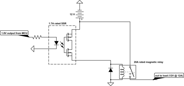 Outstanding Mosfet Anything Wrong With Using A Solid State Relay To Trigger A Dandim Mohammedshrine Wiring Diagrams Dandimmohammedshrineorg