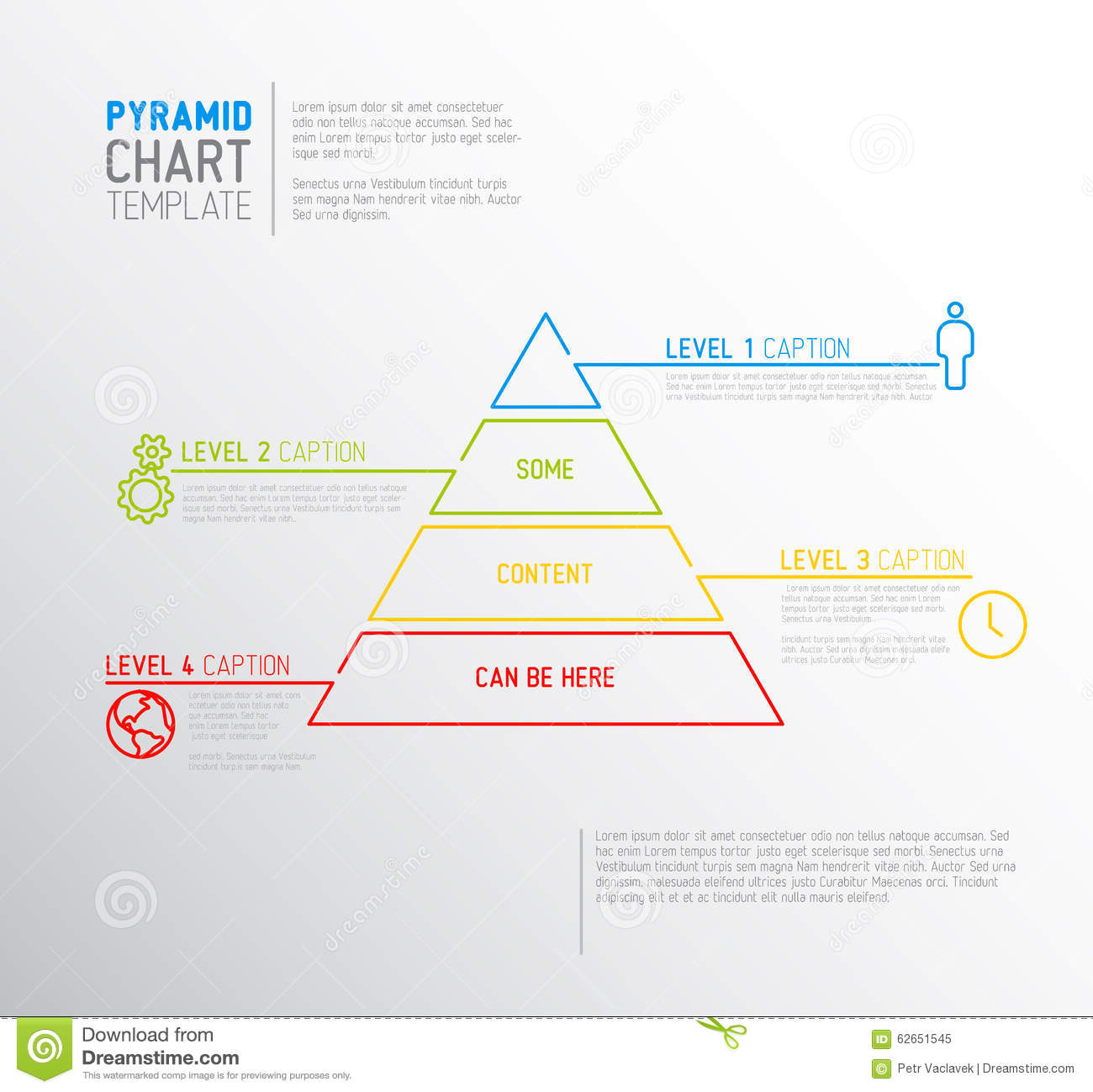 Remarkable 3D Pyramid Cone Diagram 7 Levels Split Separated Slides Diagrams Dandim Mohammedshrine Wiring Diagrams Dandimmohammedshrineorg