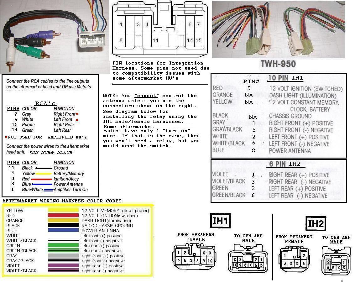 Awesome Car Stereo Wiring Color Codes Basic Electronics Wiring Diagram Dandim Mohammedshrine Wiring Diagrams Dandimmohammedshrineorg