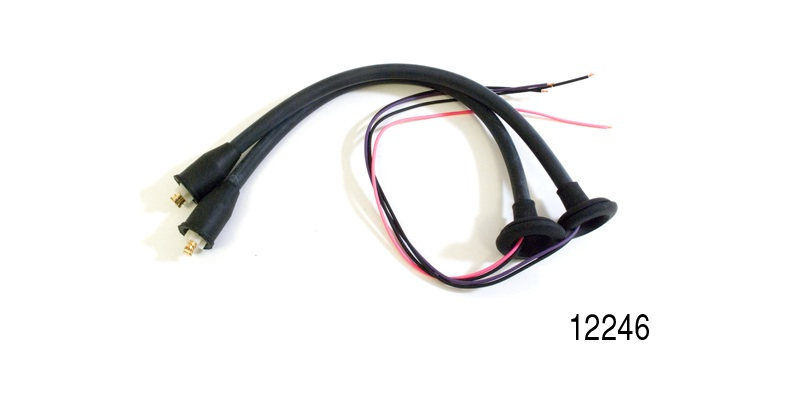 Awesome Factory Fit 1955 1956 Chevy Taillight Wiring Harness Pigtails Pair Dandim Mohammedshrine Wiring Diagrams Dandimmohammedshrineorg