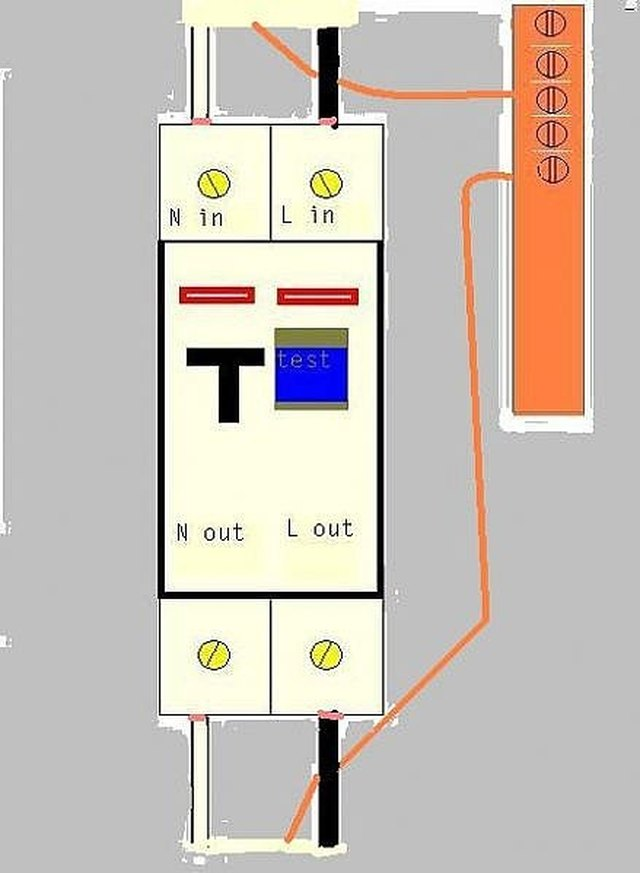 Peachy How To Wire An Rcbo With Pictures Ehow Dandim Mohammedshrine Wiring Diagrams Dandimmohammedshrineorg