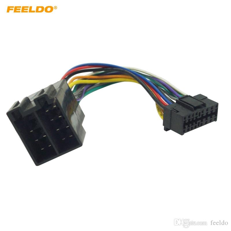 Magnificent 2019 Feeldo Car Stereo Radio Wire Harness Adapter For Sony 16 Pin Dandim Mohammedshrine Wiring Diagrams Dandimmohammedshrineorg